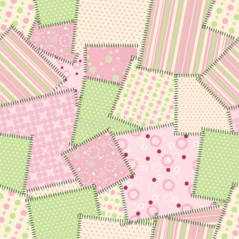 Het naadloze patroon van het flard. Vector vector illustratie