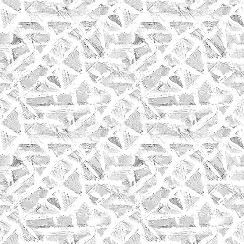 Het naadloze patroon van het mozaïek abstracte achtergrond De moderne, geometrische textuur, schoon, ontwerpmalplaatje, kan gebru vector illustratie