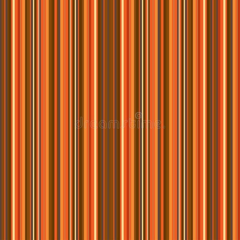 Het naadloze patroon van strepen Moderne textuur in in kleuren Abstracte gestreepte achtergrond met dunne parallelle lijnen Lijne stock illustratie