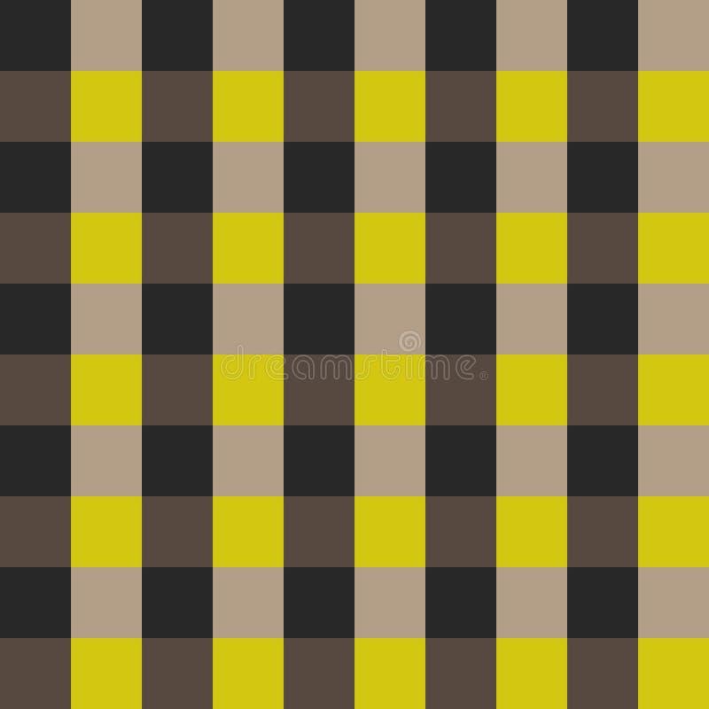Het naadloze vectorpatroon van het plaidoverhemd royalty-vrije illustratie