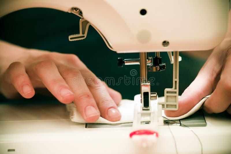 Het naaien stock foto's