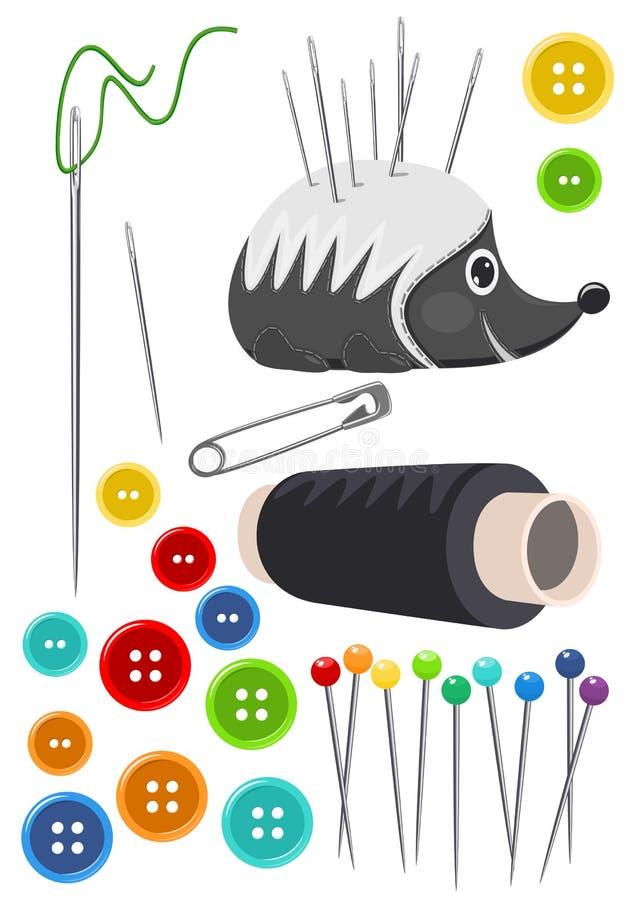 Het naaien   vector illustratie