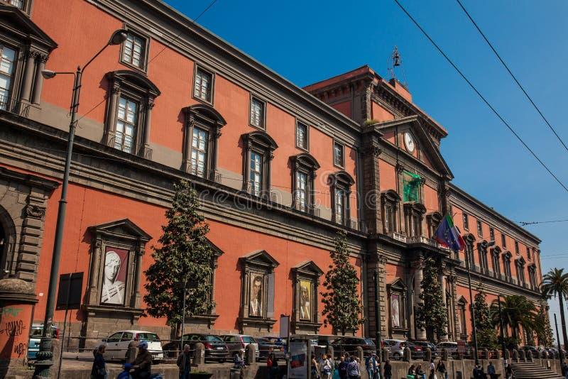 Het Nationale Archeologische Museum van Napels royalty-vrije stock afbeeldingen