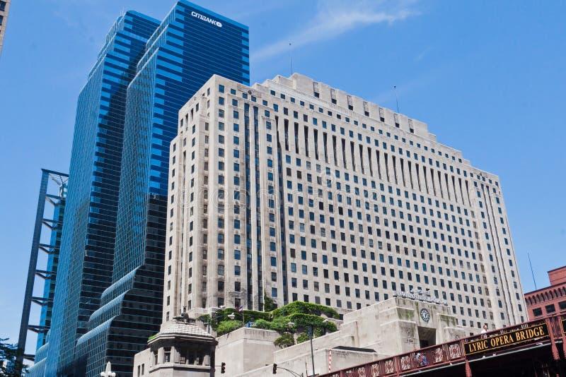 Het nationale Chirurgische Ziekenhuis in Chicago Illinois royalty-vrije stock afbeeldingen