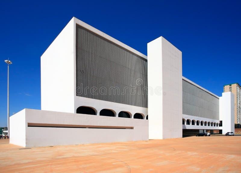 Het nationale Congres van Brazilië. royalty-vrije stock afbeelding