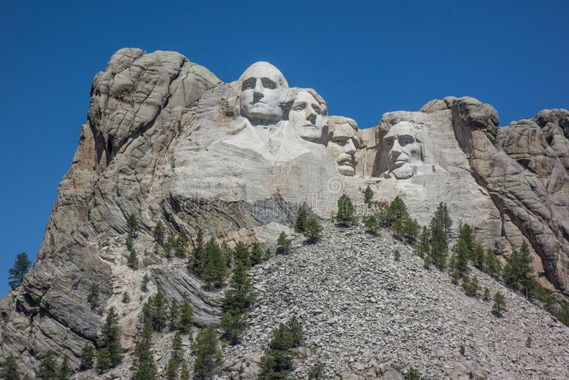 Het Nationale Gedenkteken van MT Rushmore royalty-vrije stock fotografie