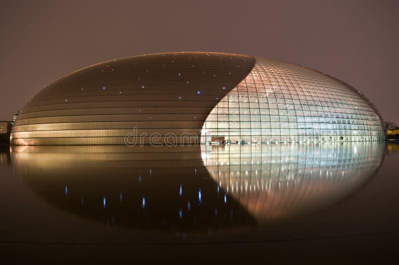 Het Nationale Grote Theater van Peking stock foto