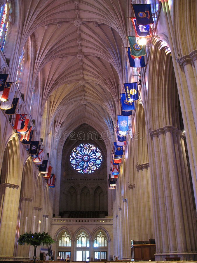 Het nationale Heiligdom van de Kathedraal royalty-vrije stock fotografie