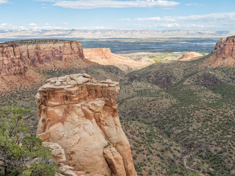 Het nationale monument van Colorado royalty-vrije stock fotografie