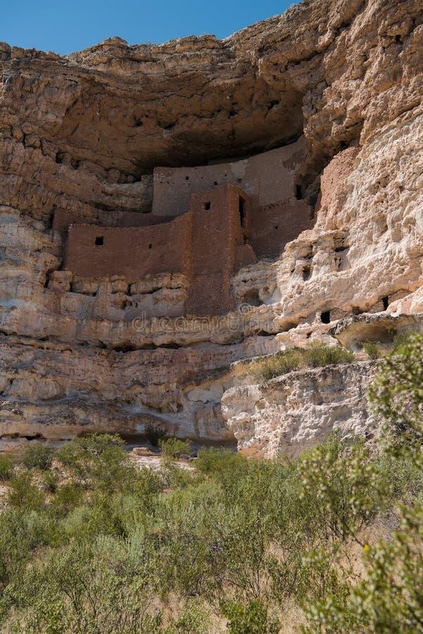 Het Nationale Monument van het Kasteel van Montezuma royalty-vrije stock foto's