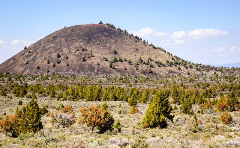Het nationale monument van lavabedden stock afbeelding