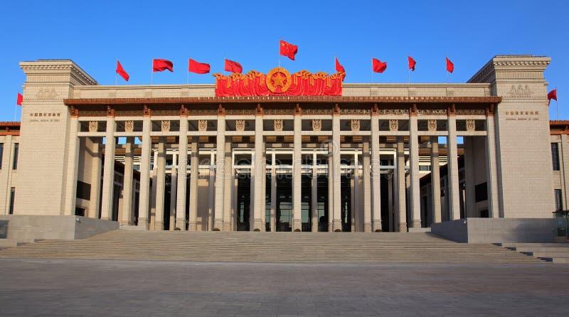 Het nationale Museum van China heropent na vernieuwingen royalty-vrije stock afbeeldingen