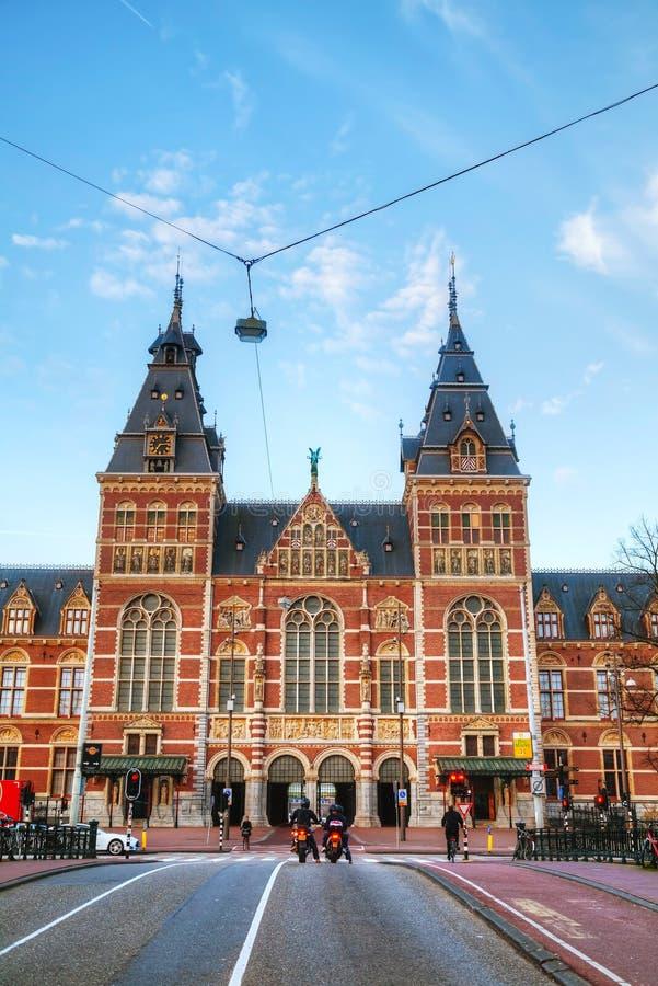 Het nationale museum van Nederland in Amsterdam royalty-vrije stock fotografie