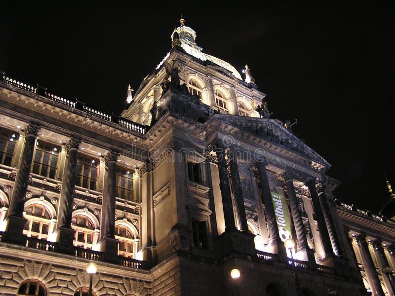 Het Nationale Museum van Praag royalty-vrije stock afbeelding