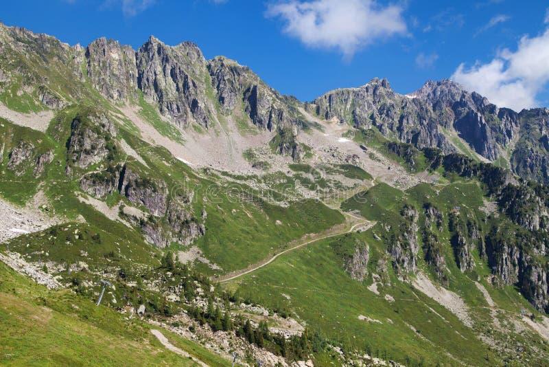 Het Nationale Natuurreservaat van de Aiguillesrouge royalty-vrije stock fotografie
