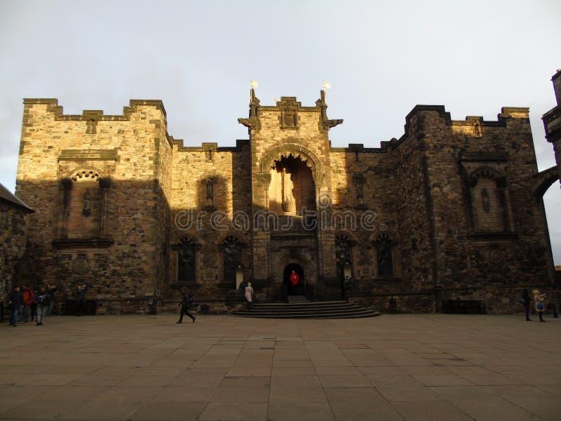 Het Nationale Oorlogsgedenkteken voor Schotland royalty-vrije stock afbeelding