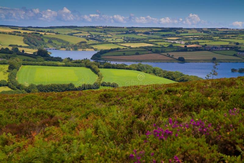 Het Nationale Park Somerset van Exmoor van het Meer van Wimbleball royalty-vrije stock foto's