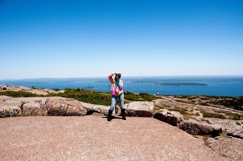 Het Nationale Park van Acadia, Maine, de V.S. royalty-vrije stock foto's
