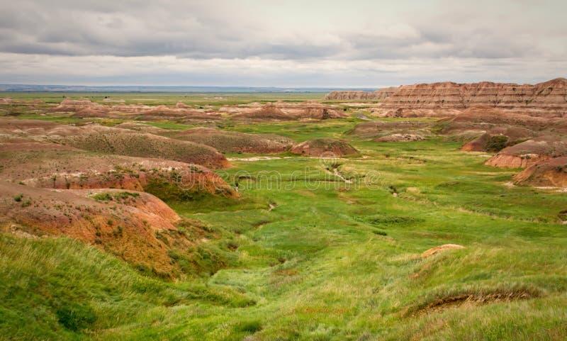 Het Nationale Park van Badlands royalty-vrije stock fotografie