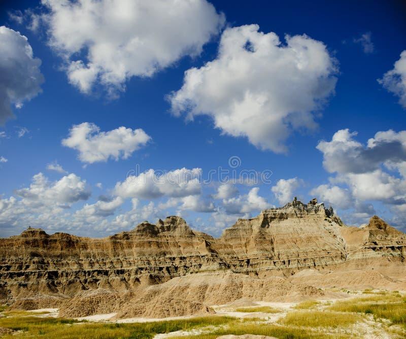 Het Nationale Park van Badlands royalty-vrije stock afbeeldingen