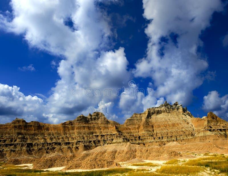 Het Nationale Park van Badlands stock foto's