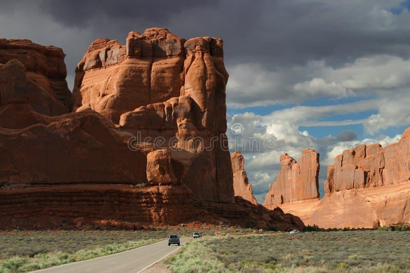 Het Nationale Park van bogen royalty-vrije stock foto