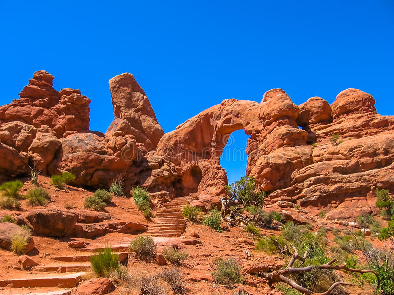 Het Nationale Park van bogen, Utah royalty-vrije stock fotografie