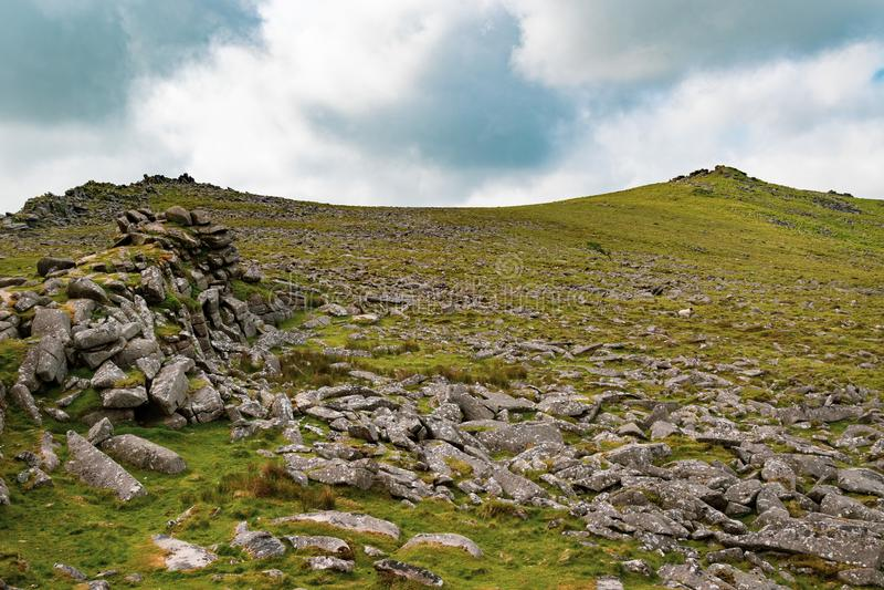 Het Nationale Park van Dartmoor royalty-vrije stock afbeelding