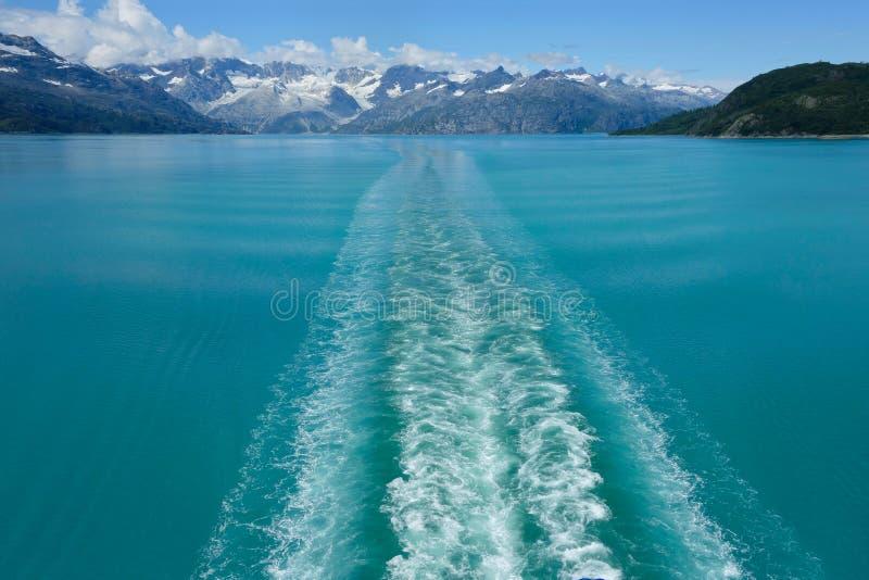 Het Nationale Park van de Baai van de gletsjer royalty-vrije stock foto