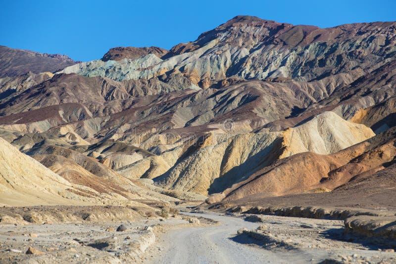 Het Nationale Park van de doodsvallei stock afbeeldingen
