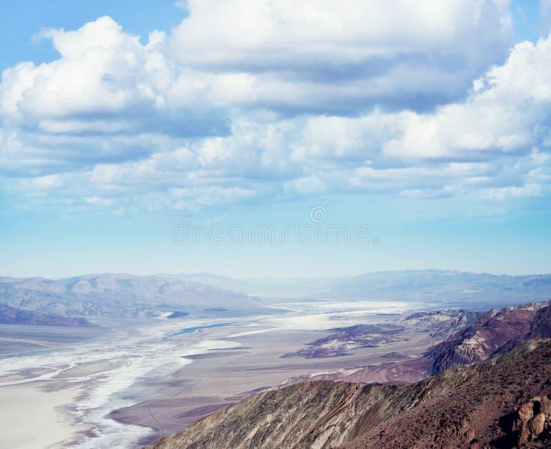 Het nationale park van de doodsvallei, Californië, de V stock afbeeldingen