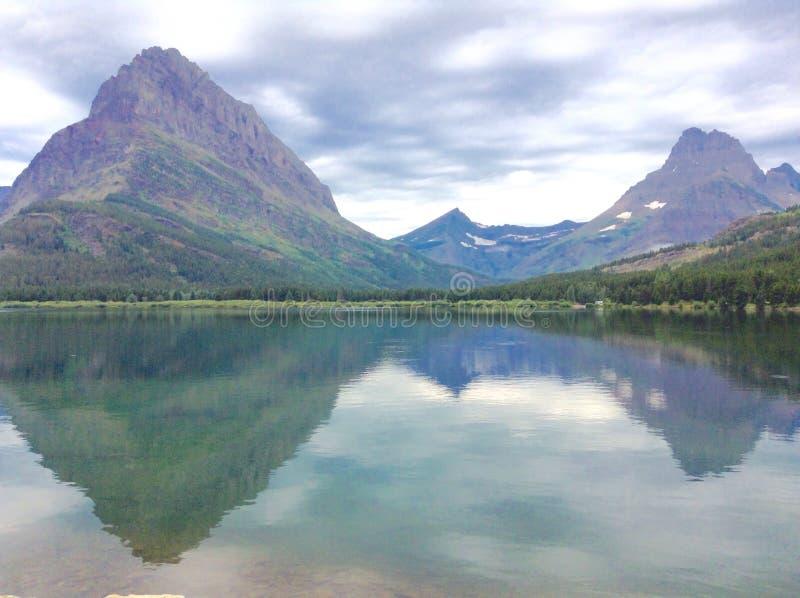Het Nationale Park van de gletsjer stock afbeelding