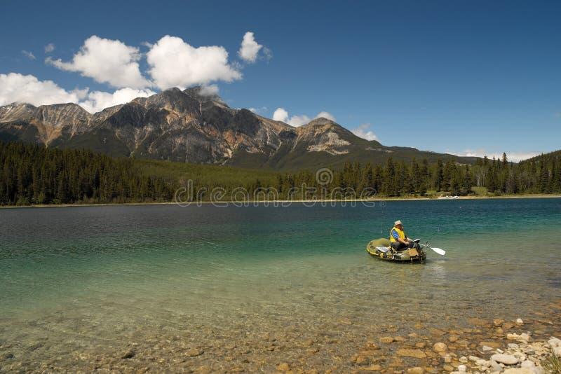 Het Nationale Park van de jaspis - Alberta - Canada stock foto