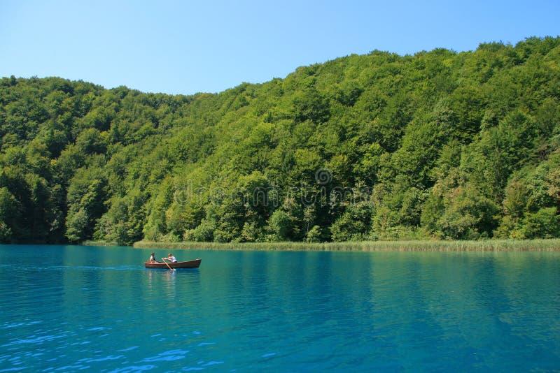 Het Nationale Park van de Meren van Plitvice in Kroatië royalty-vrije stock afbeeldingen