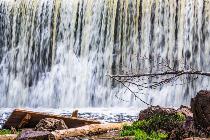 Het Nationale Park van de molenkreek, Grotere Moncton, New Brunswick, Canada stock foto's