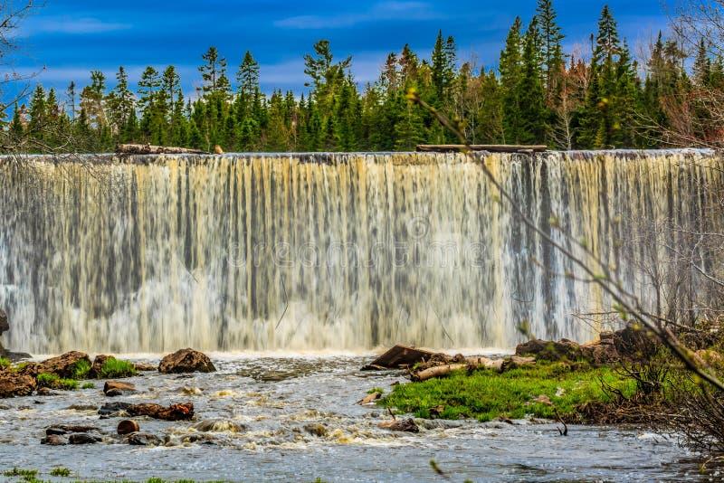Het Nationale Park van de molenkreek, Grotere Moncton, New Brunswick, Canada stock afbeeldingen