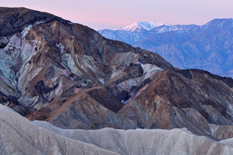 Download Het Nationale Park Van De Vallei Van De Dood Stock Afbeelding - Afbeelding bestaande uit klei, californië: 10777823