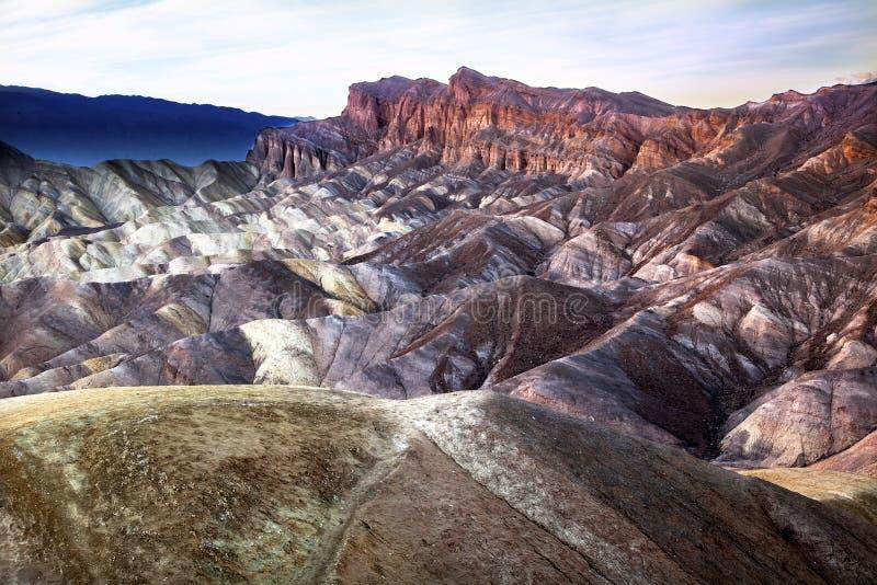 Het Nationale Park van de Vallei van de Dood van het Punt van Zabruski royalty-vrije stock foto