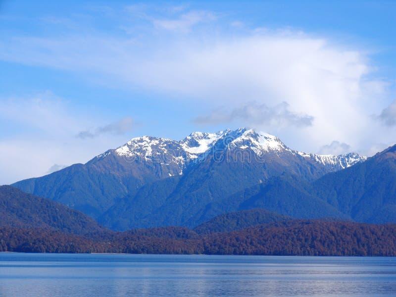 Het Nationale Park van Fiordland (Park1) royalty-vrije stock afbeelding