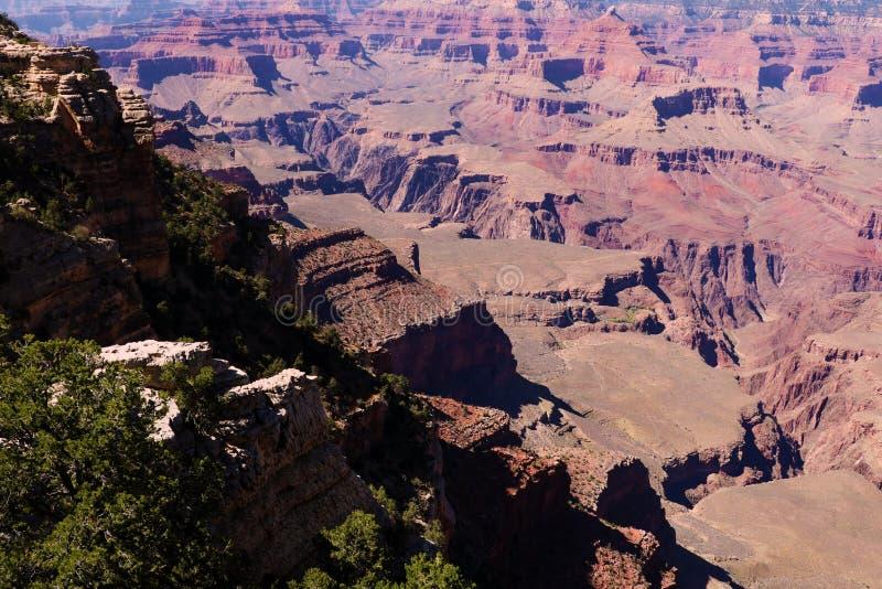 Is het Nationale Park van Grand Canyon, in Arizona, naar huis aan veel van immens Grand Canyon stock afbeelding