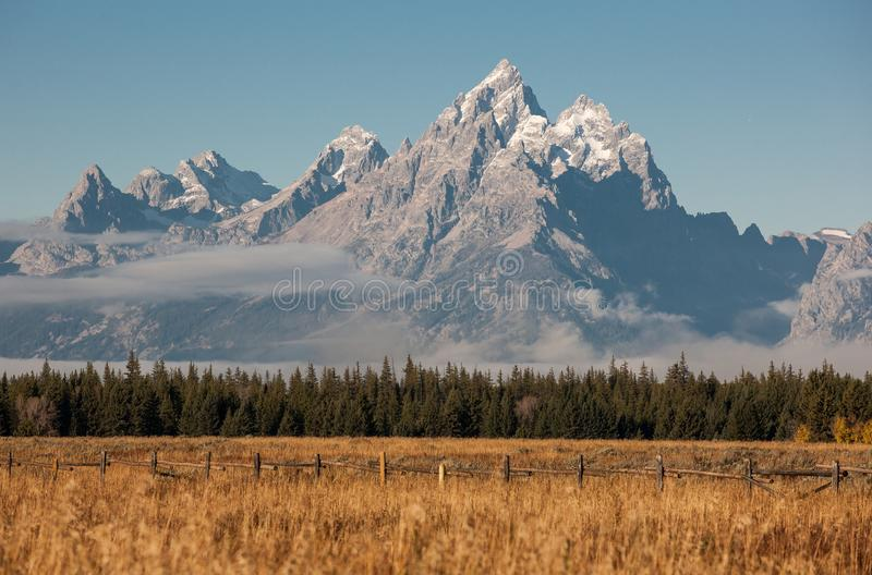 Het Nationale Park van Grand Teton royalty-vrije stock afbeelding