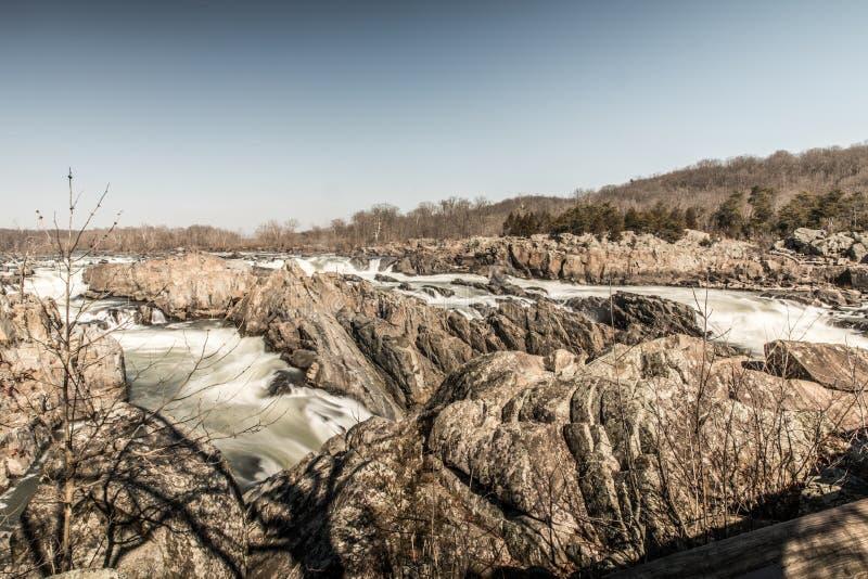 Het Nationale Park van Great Falls royalty-vrije stock foto's