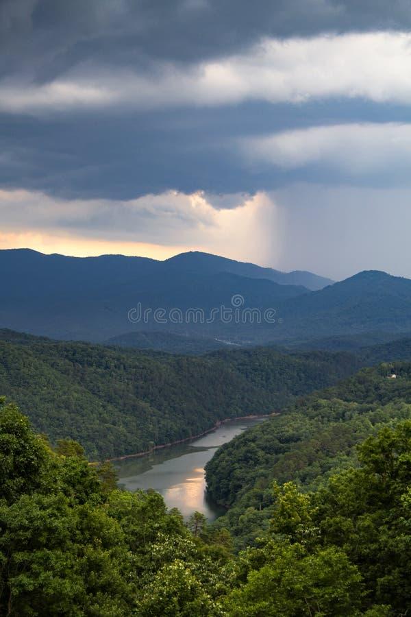 Het Nationale Park van Great Smoky Mountains stock foto's