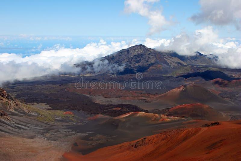 Het Nationale Park van Haleakala royalty-vrije stock foto