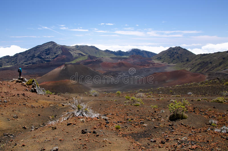 Het Nationale Park van Haleakala royalty-vrije stock afbeeldingen