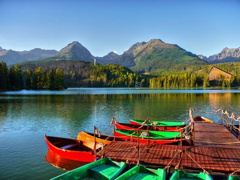 Het Nationale Park van het bergenmeer royalty-vrije stock foto's