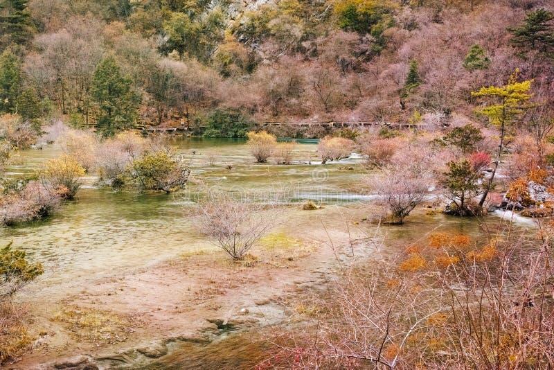 Het Nationale Park van Jiuzhaigou royalty-vrije stock foto