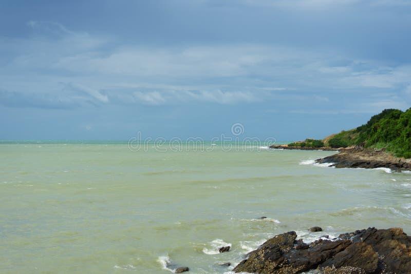 Is het nationale park van Khao laem kho ya-mu samet het plaats bij zeer galant stock foto