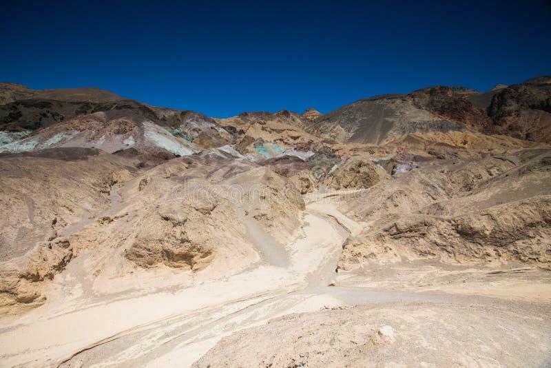 Het Nationale Park van kunstenaarspalette death valley royalty-vrije stock afbeeldingen