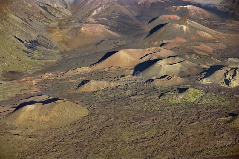 Het Nationale Park van Maui. royalty-vrije stock fotografie